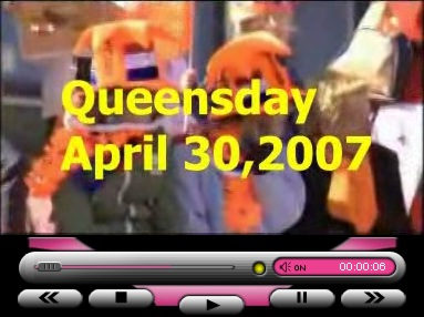 Queen's day, April 30, 2007.